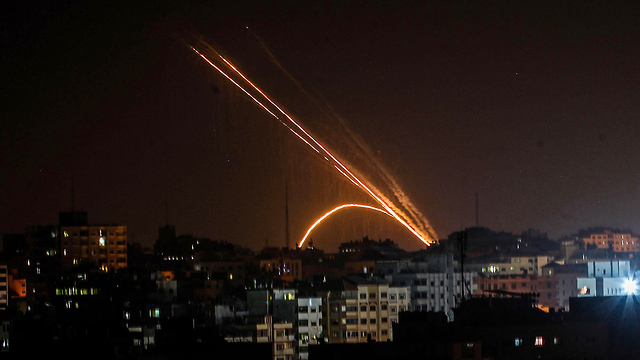 обстрелы Израиля
