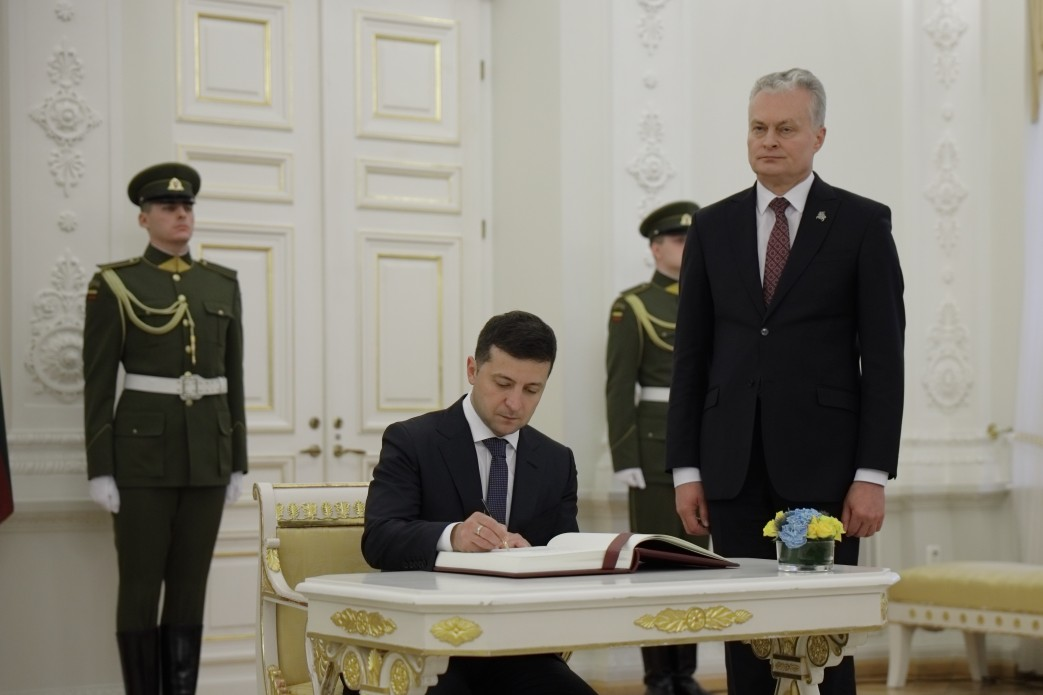 подписание договора.
