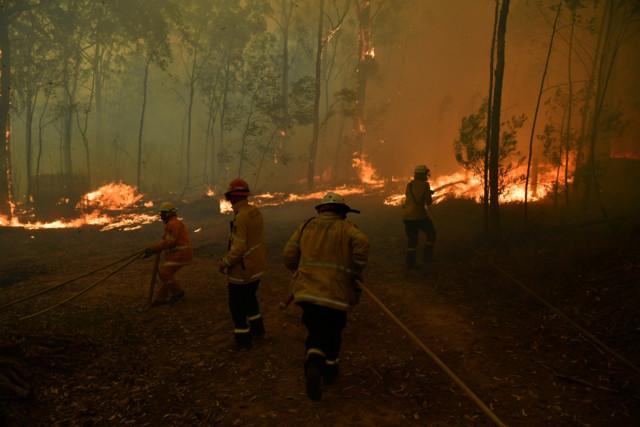 Пожары в Австралии: снова объявлена масштабная эвакуация людей