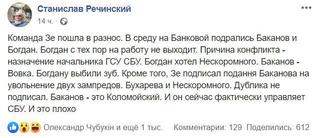 пост Речинского