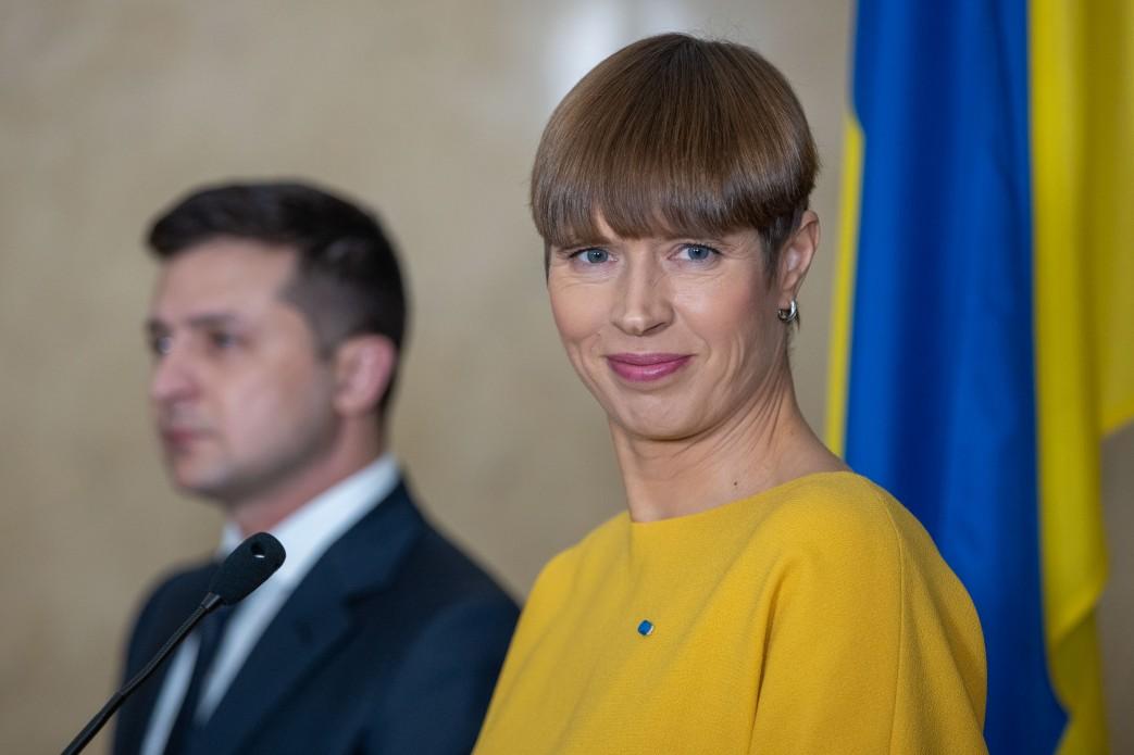 президент Эстонии.