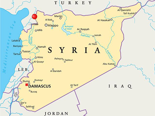 удар по Сирии