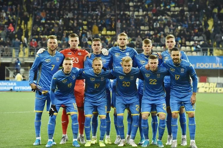 Украина Эстония состав
