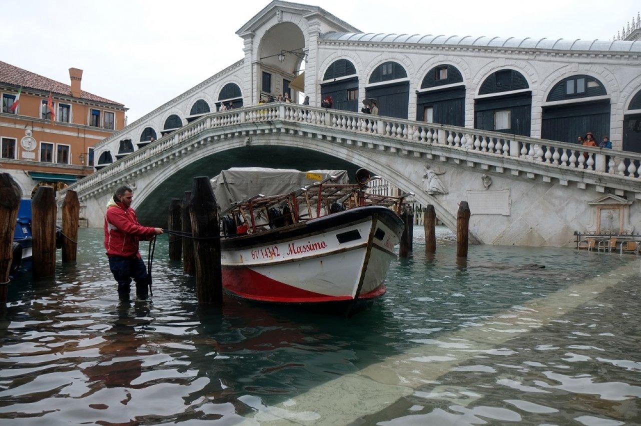 Венеция в воде