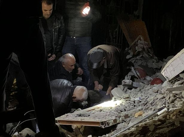 землетрясение в Албании