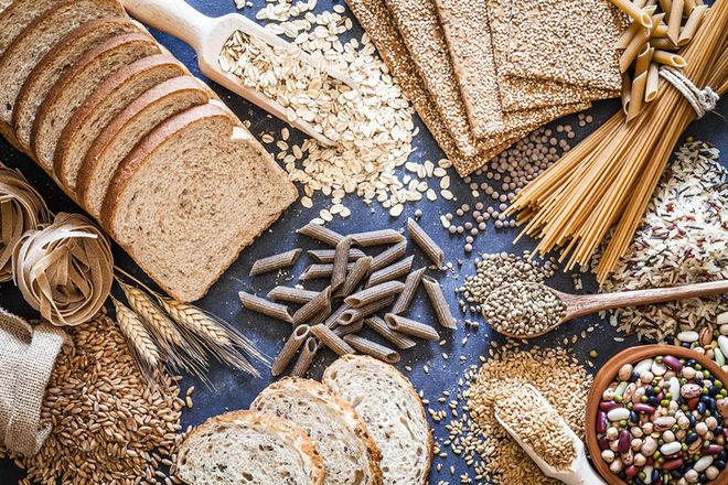 хлеб крупы.