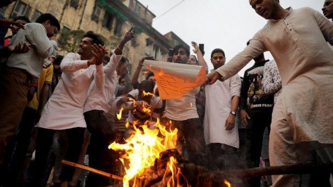 протесты в Индии