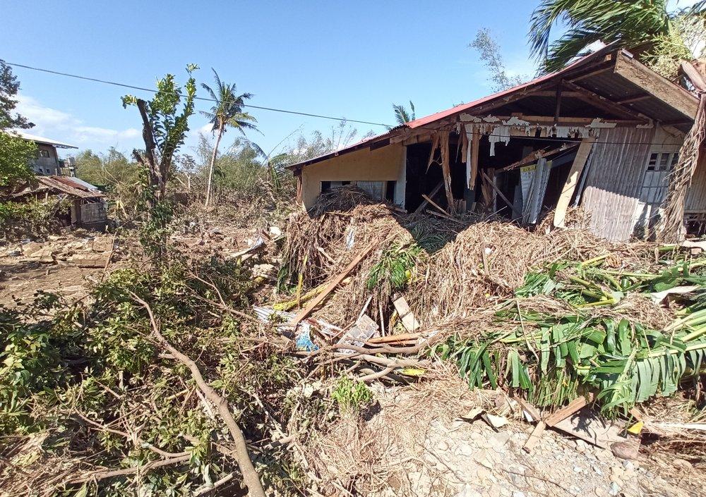 разрушение филиппины.
