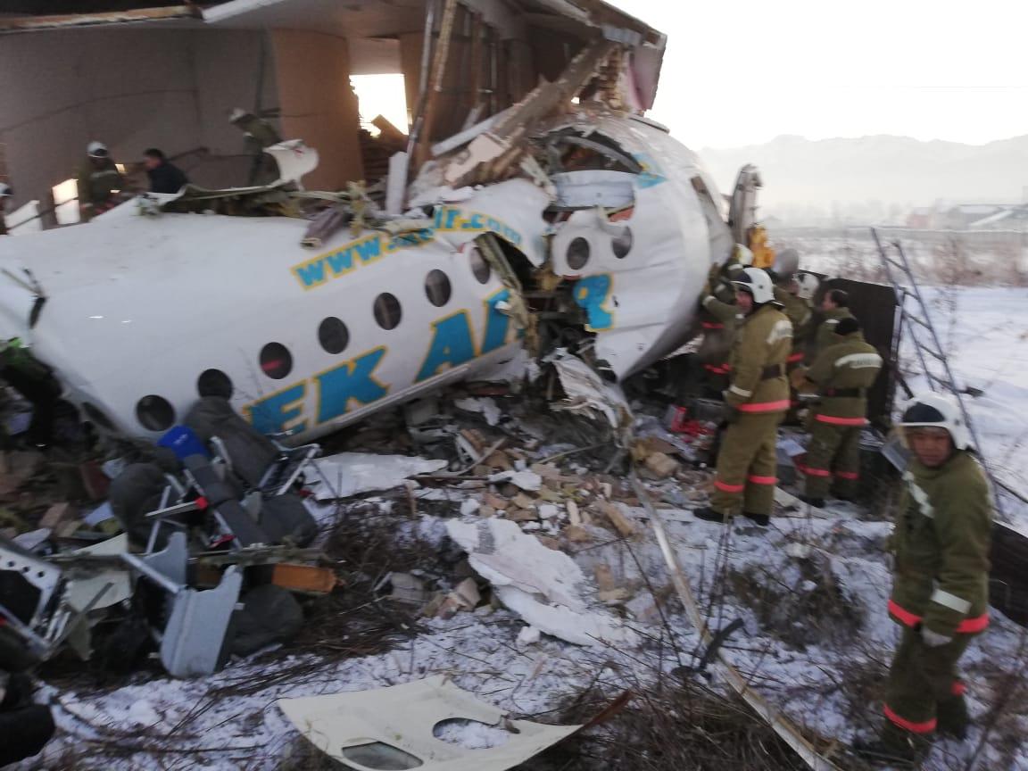 самолёт падение