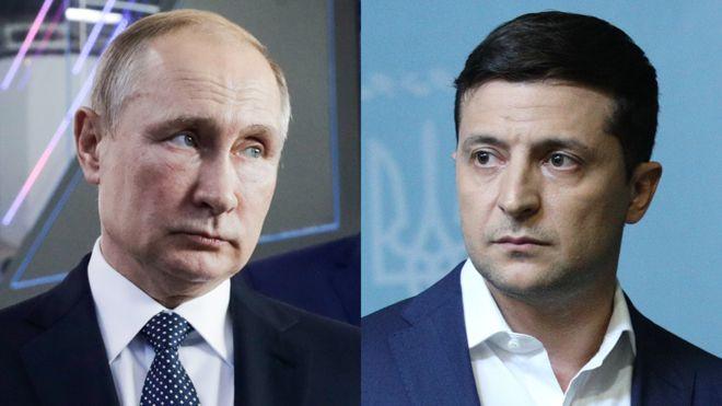 Встреча Зеленского и Путина