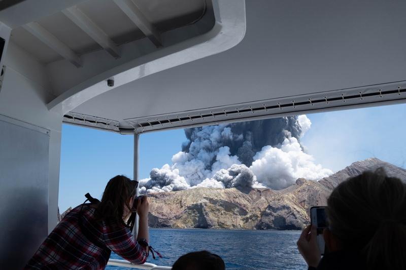 вулкан остров