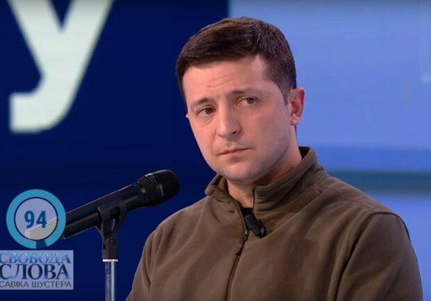 Зеленский на шоу Савика Шустера.
