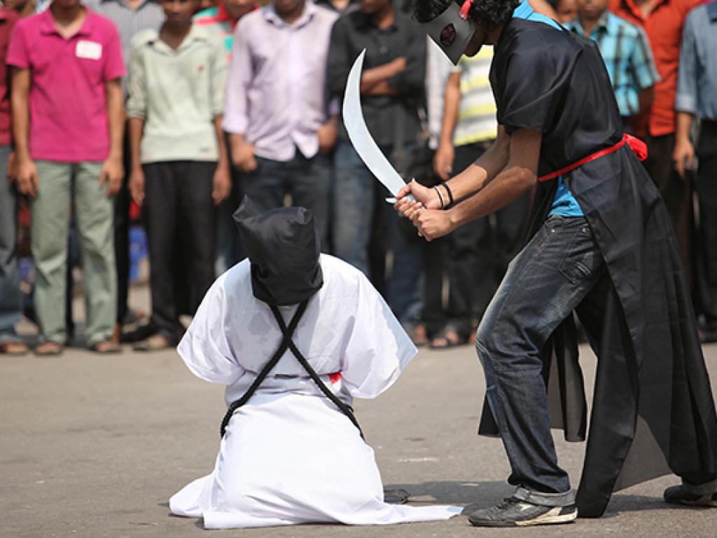 казнь Саудовская Аравия