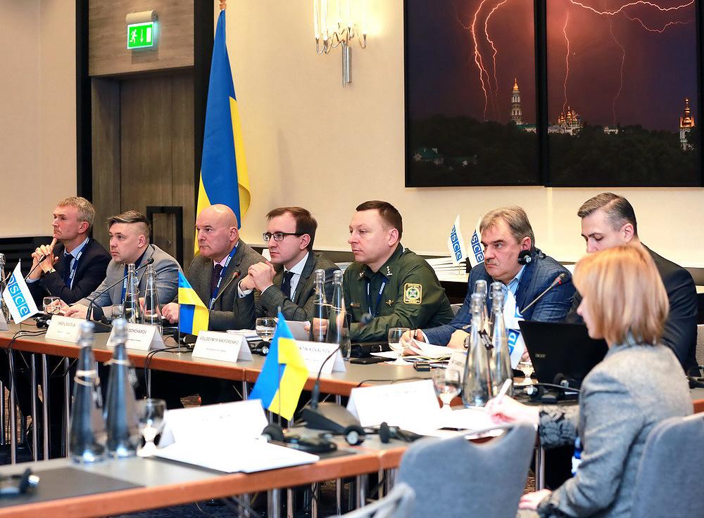 МВД и ОБСЕ заседание по обороту оружием