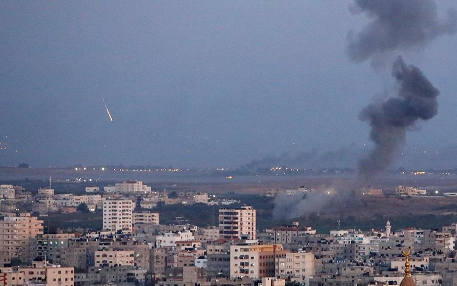 Обстрелы Израиля.