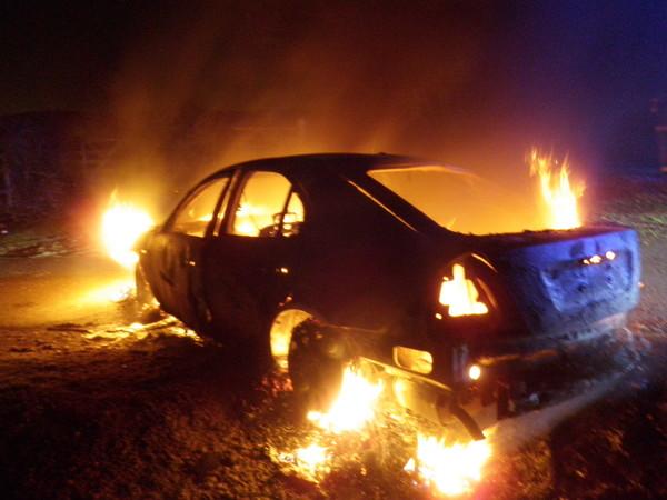 поджоги машин