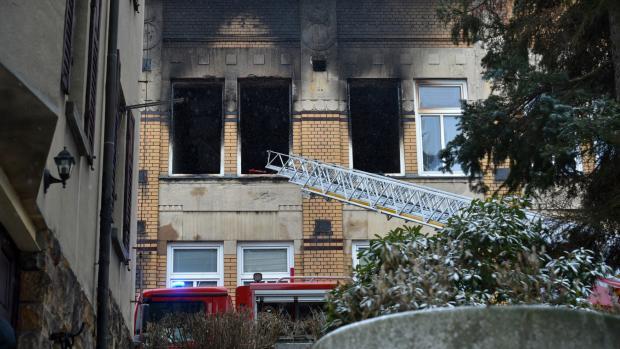 Пожар в Чехии.