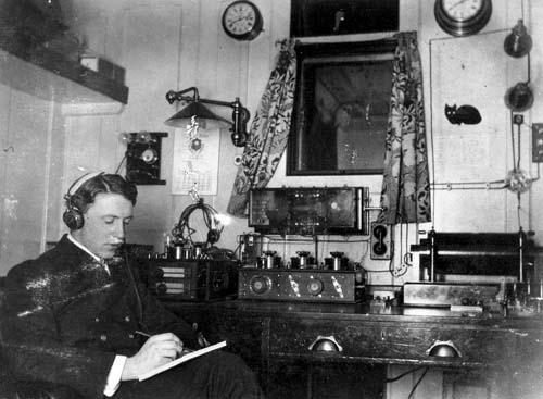 радиорубка Титаника