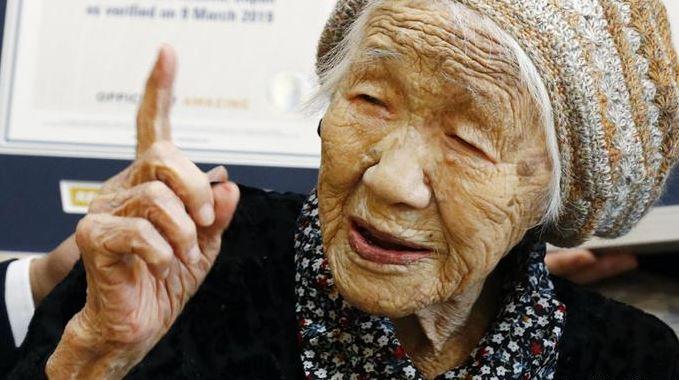 самая старая женщина