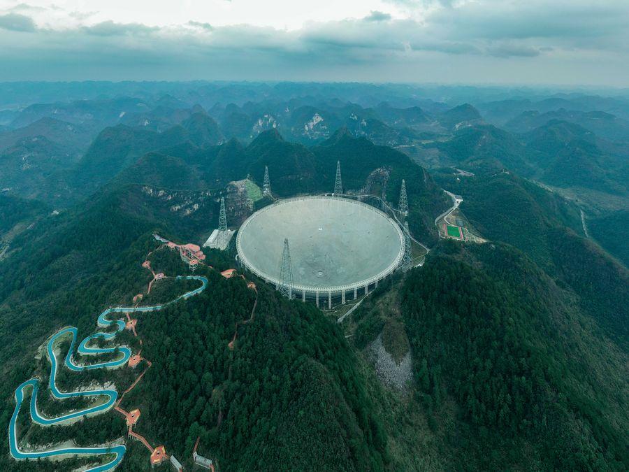 телескоп в Китае