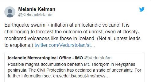Готовятся к худшему: в Исландии ждут извержения вулкана