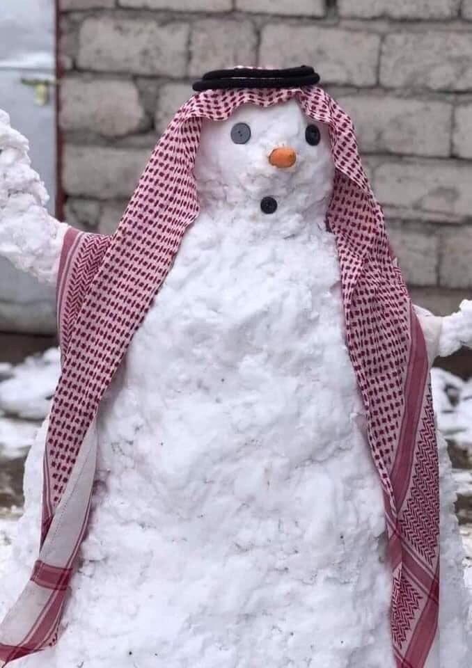 Багдад под снегом
