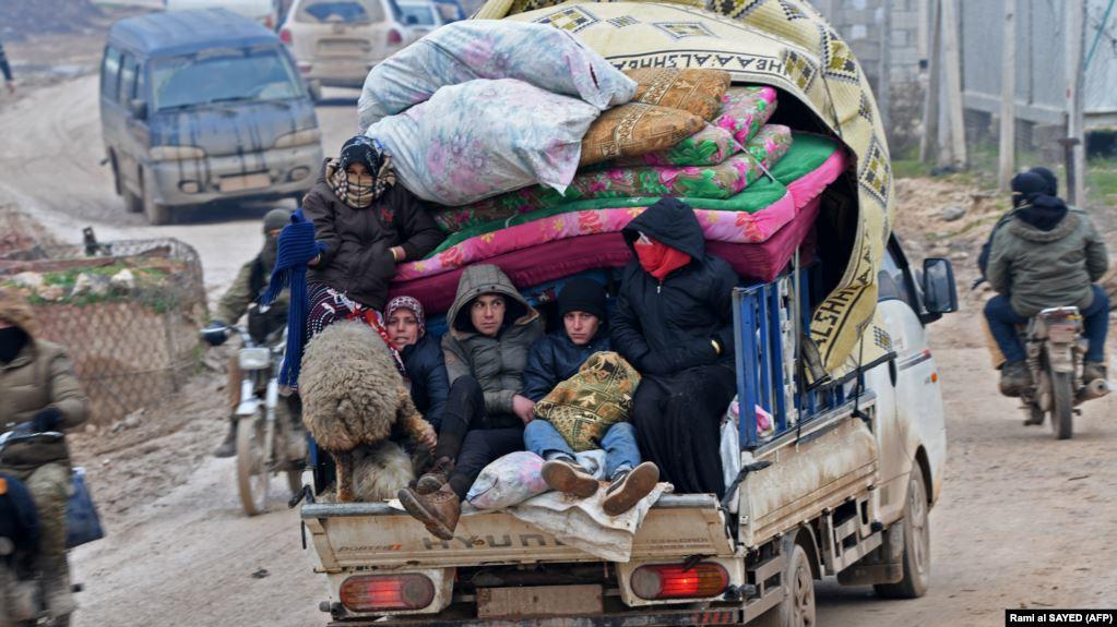 беженцы Сирия
