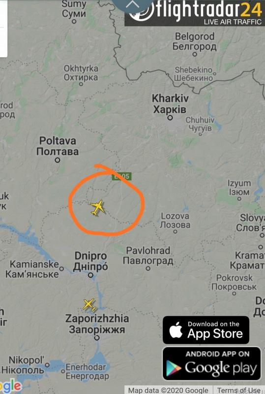 карта самолёт.