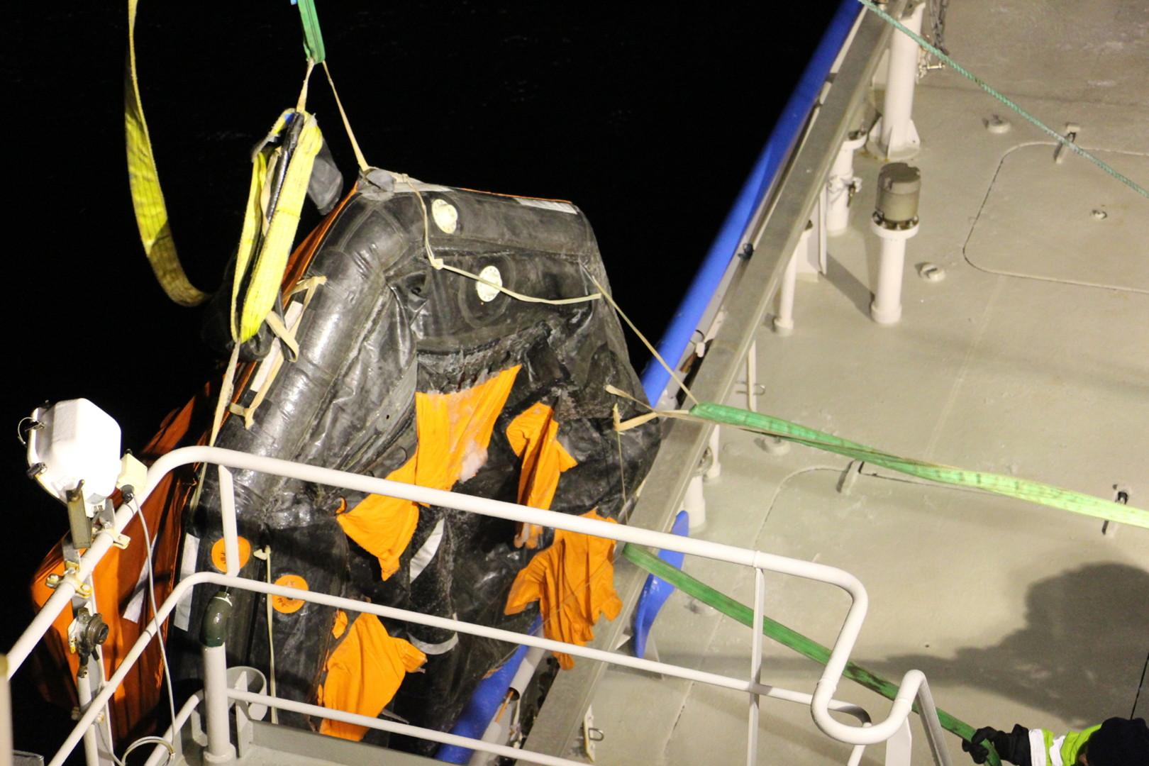 Возле берегов Эстонии затонул российский траулер, моряков спасли