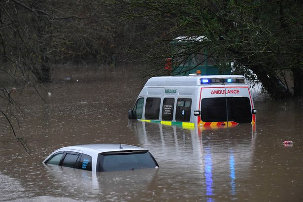 наводнение Уэльс