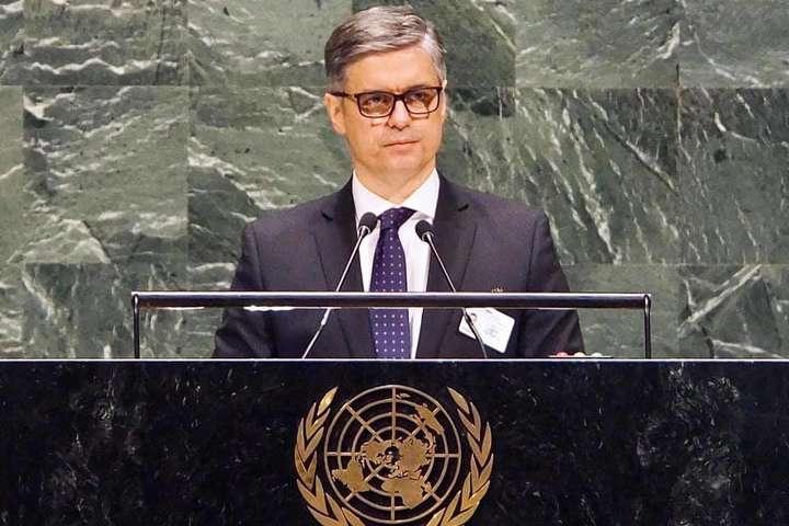 Пристайко в ООН