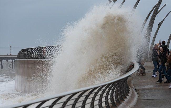 шторм в нидерландах