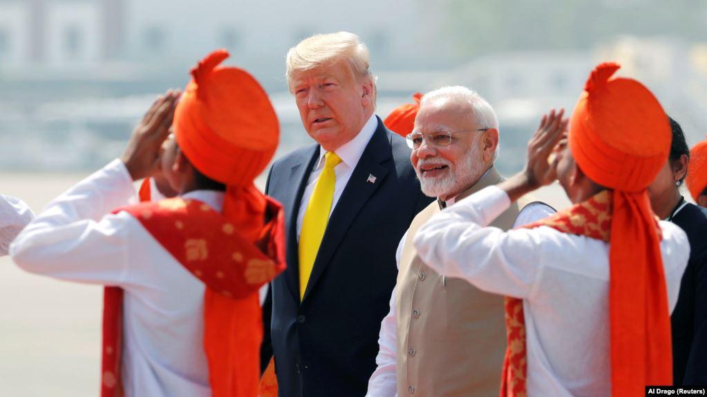 Трамп в Индии