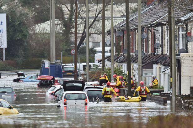 Уэльс затопление