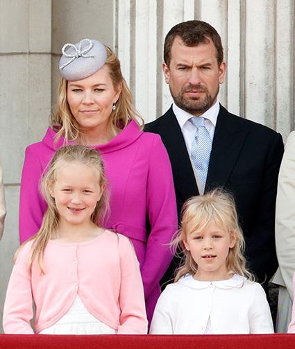 внук королевы с детьми