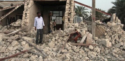 землетрясение иран