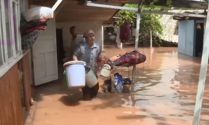 потоп в Таджикистане