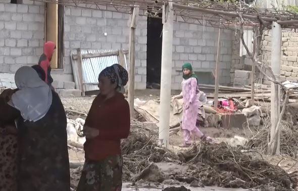 стихия в Таджикистане