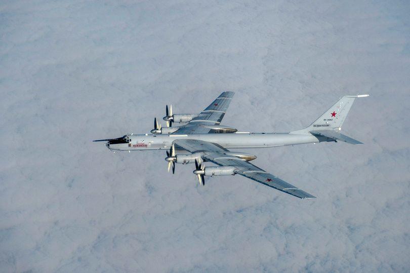 Российские самолёты пытались попасть в воздушное пространство Британии