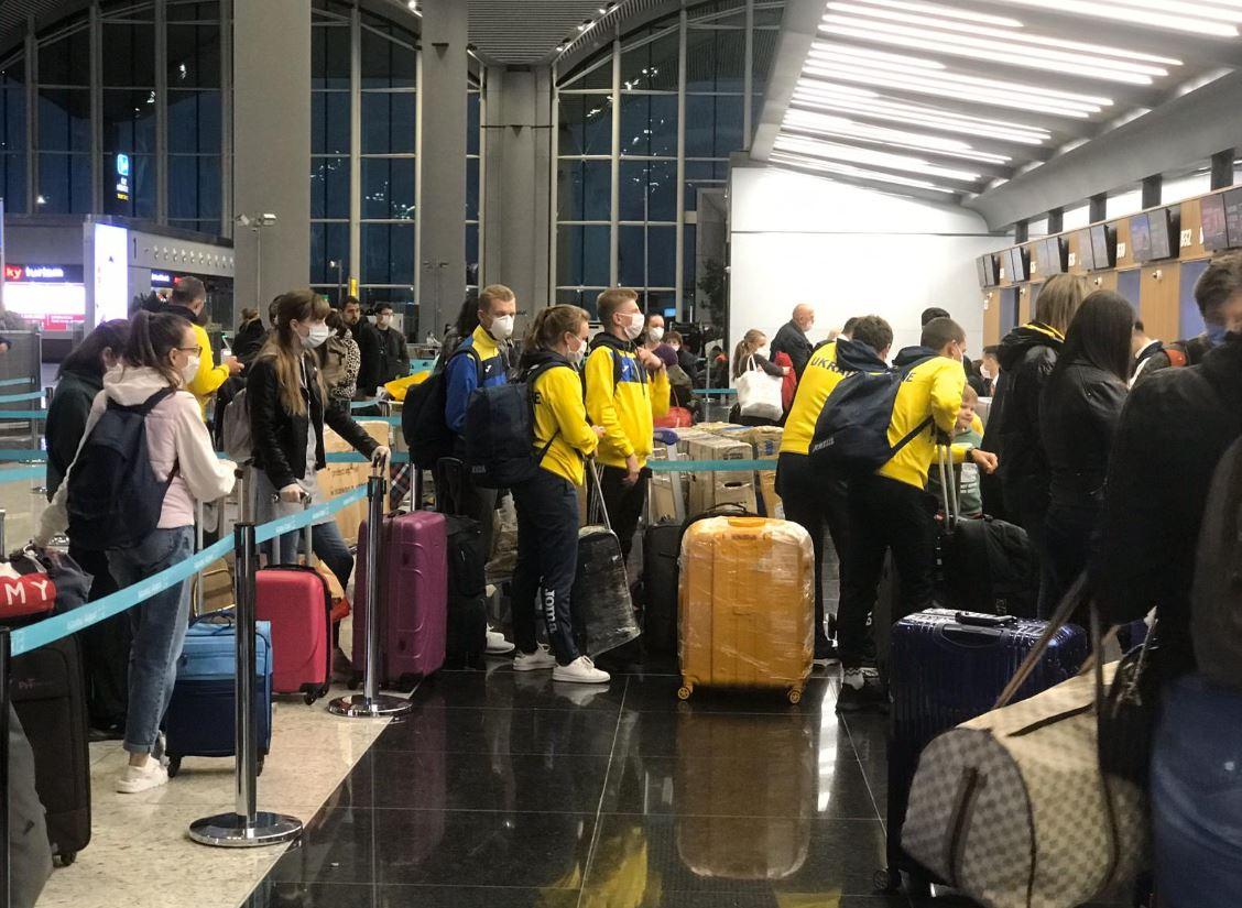 возвращение граждан Украины