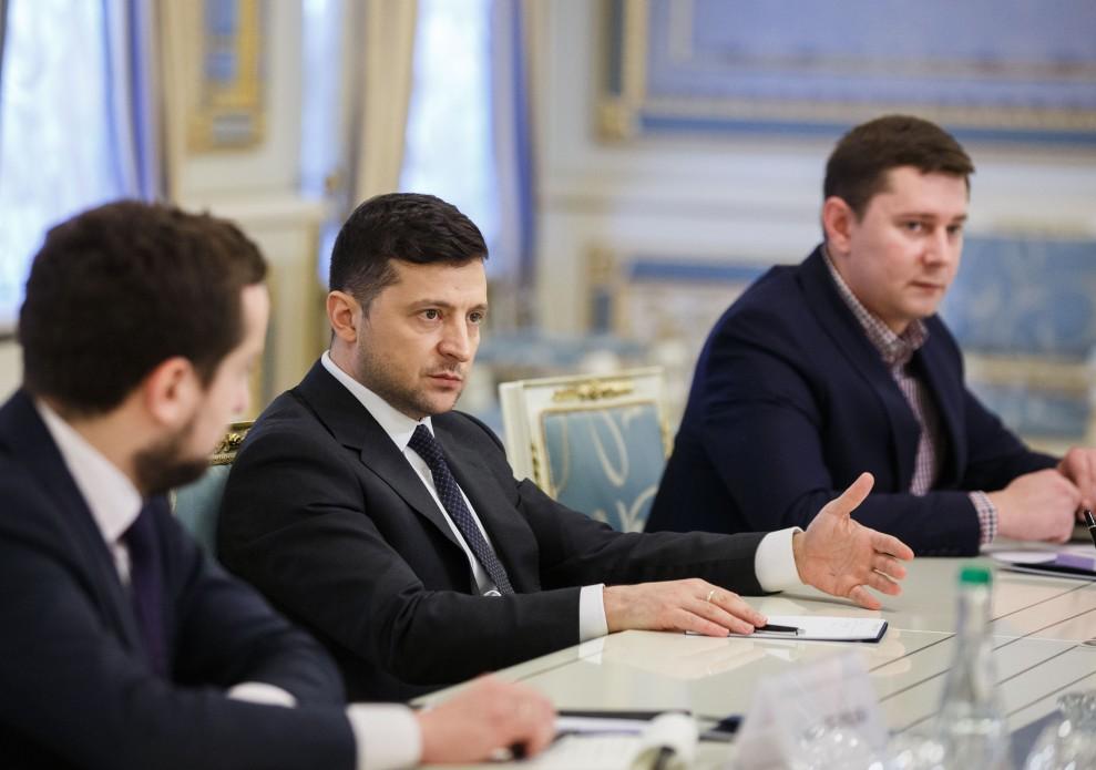 встреча Зеленского.