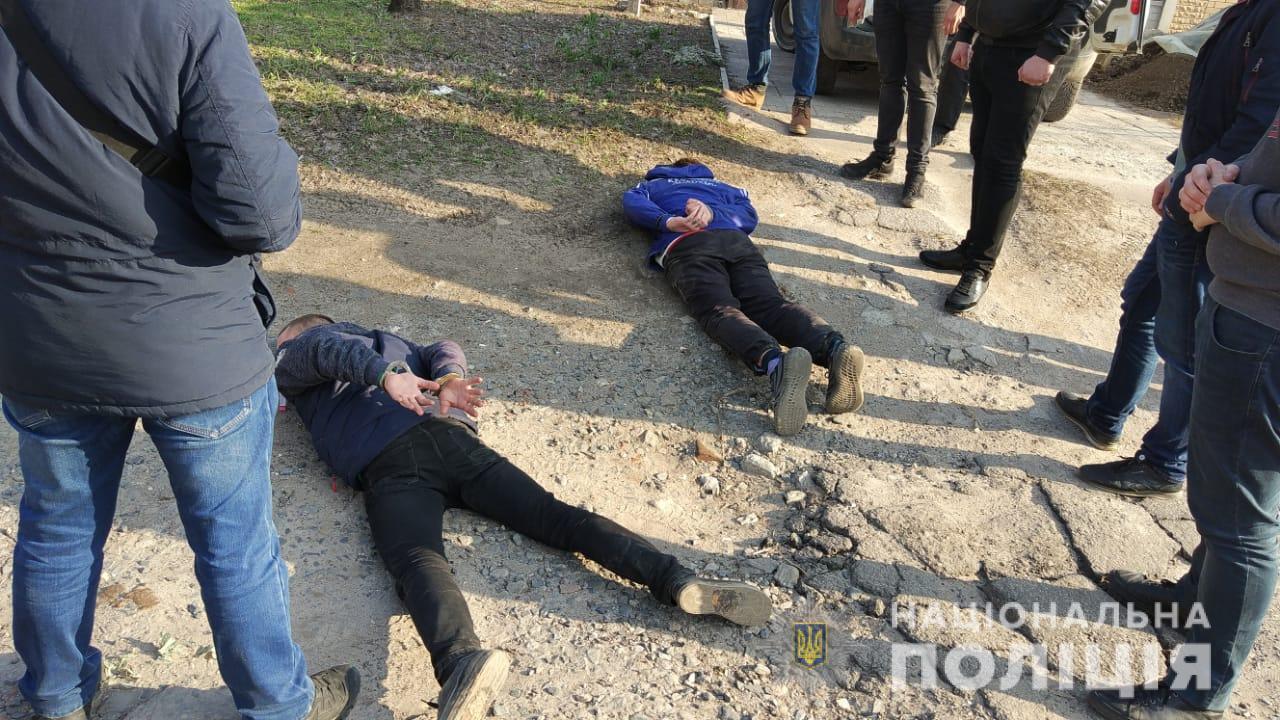 задержанные в Харьковской области.