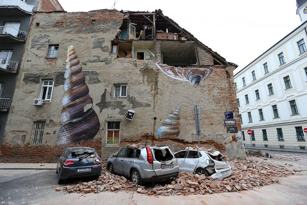Серия землетрясений в Хорватии: есть жертвы, разрушено много зданий