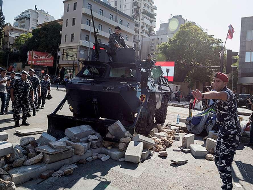 Бунт в Ливане