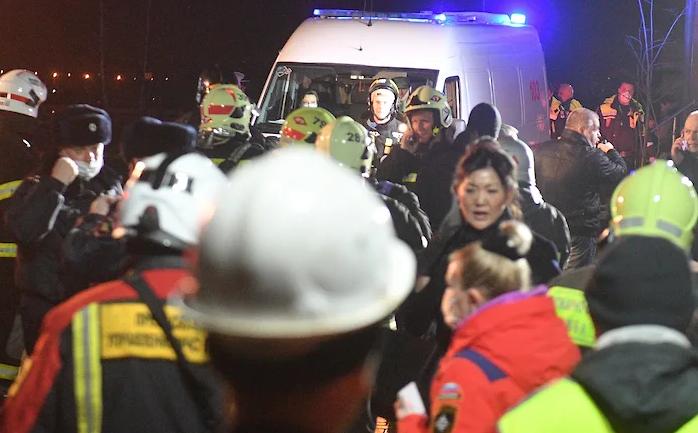 В Москве горел дом престарелых: есть погибшие и пострадавшие