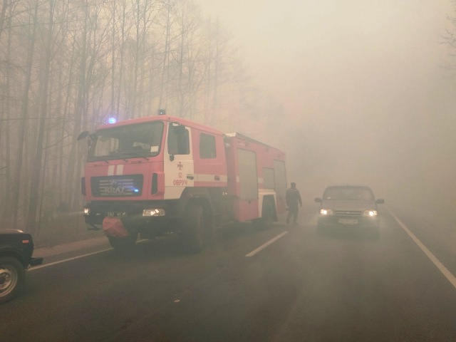 житомирская область пожар