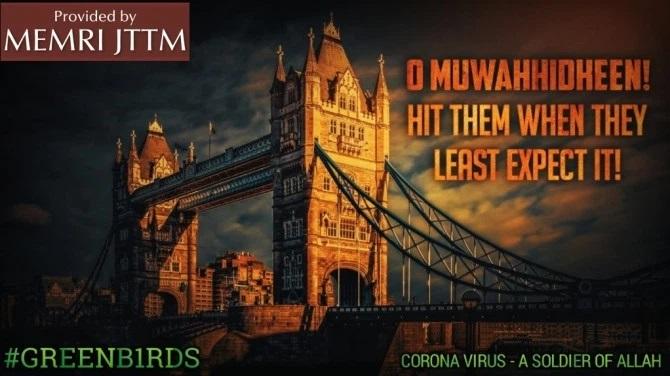 ИГ назвало коронавирус «солдатом Аллаха» в борьбе с Западом