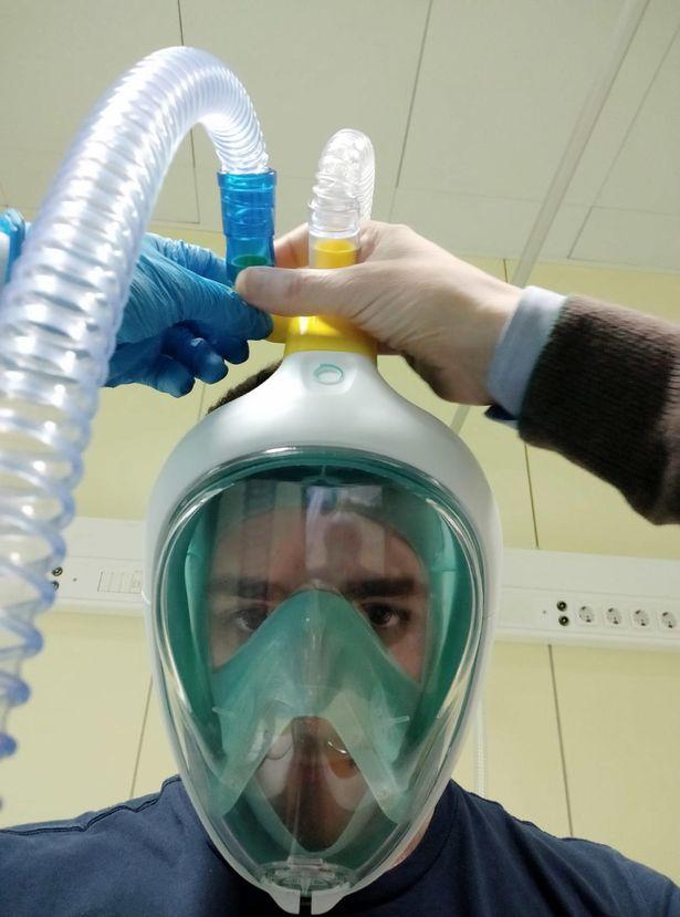 Италия - использование масок для дайвинга