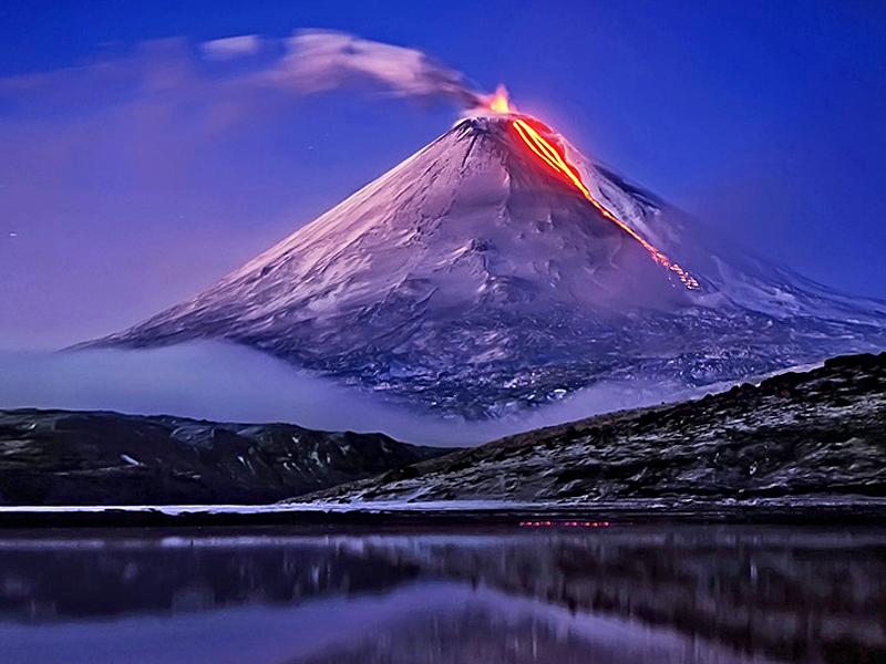 Извержение Фудзиямы