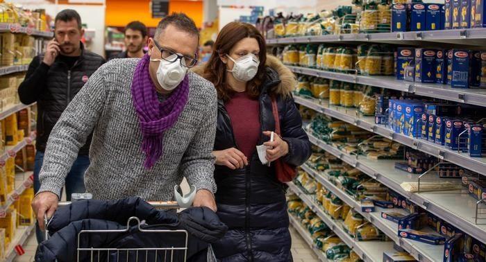 коронавирус супермаркет